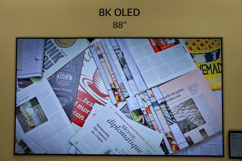 LG Display Shows Rollable & 8K OLEDs