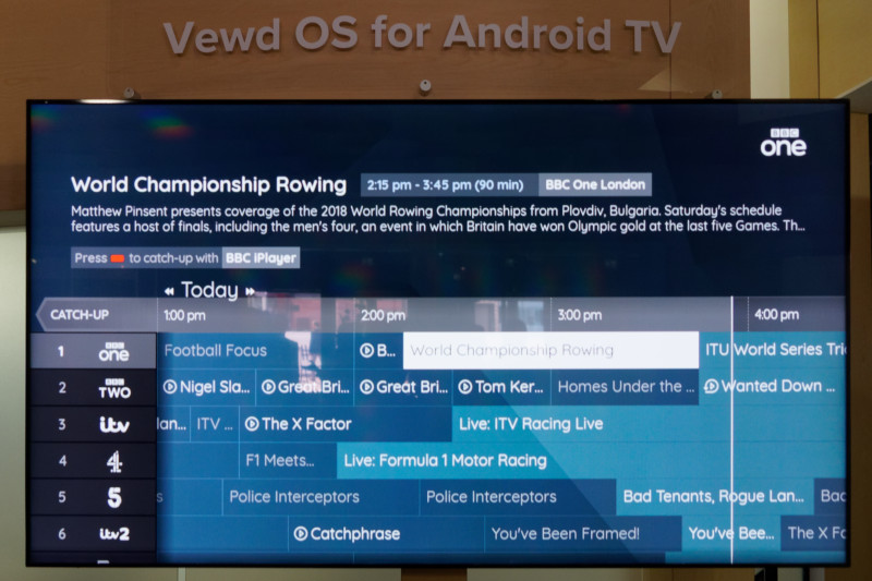 Vewd Can Co-Exist with Android TV
