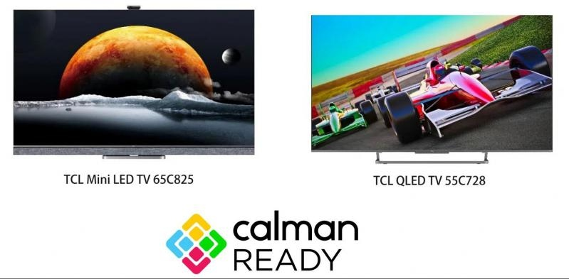 TCL Europe's QLED TV C72+ Series and Mini LED TV C82 Series Now Equipped with Calman Color Calibration Software