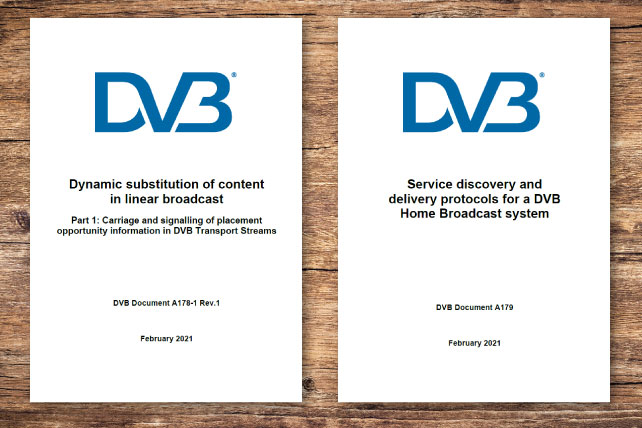 Steering Board Approves DVB-TA Watermarking and DVB Home Broadcast Spec