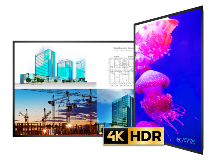 New Planar UltraRes X Series Combines Superior Image Performance with Commercial Reliability