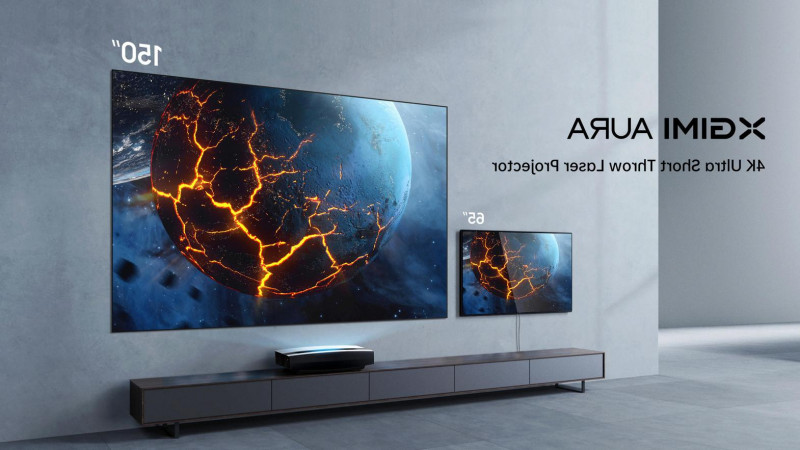 Xgimi's New Aura 4k UST Laser Projector Shows Why Your Next TV Isn't Going To Be A TV