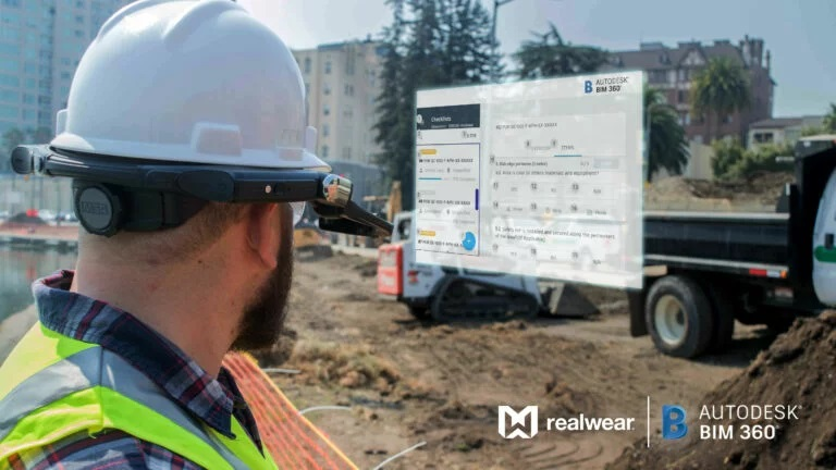 RealWear And Autodesk Break New Ground With Assisted Reality Construction Project Management Solution