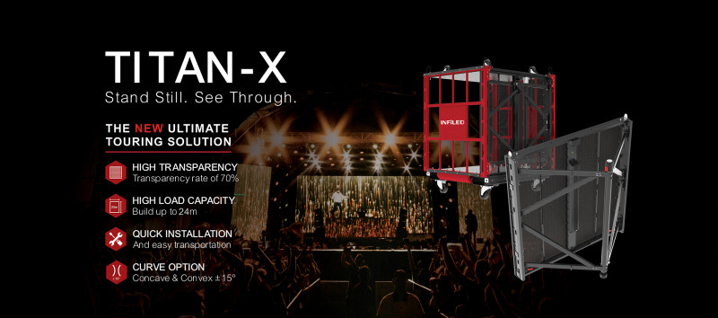 INFiLED Launches Cutting Edge Outdoor LED Rental Solution TITAN-X