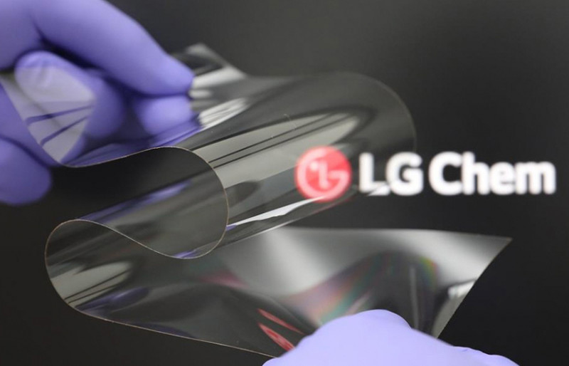 LG Chem Develops Foldable Display Material Using New Material Technologies